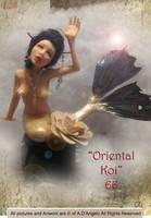 Oriental Koi by adartstudio