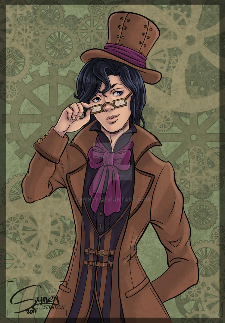Steampunk Gentleman by Syney