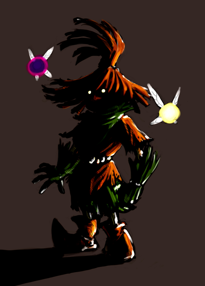 Skull Kid By Mudora On DeviantArt