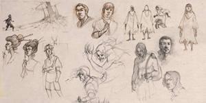 Sketch dumps by Mudora
