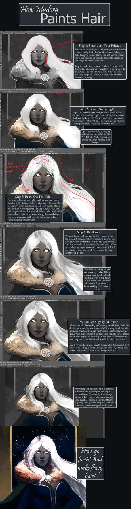 Mudora's Hair Tutorial by Mudora