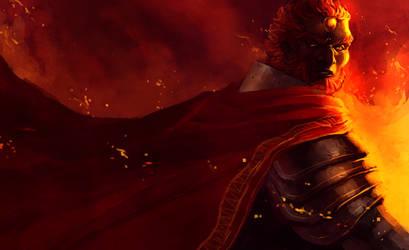 Ganon's Flame by Mudora