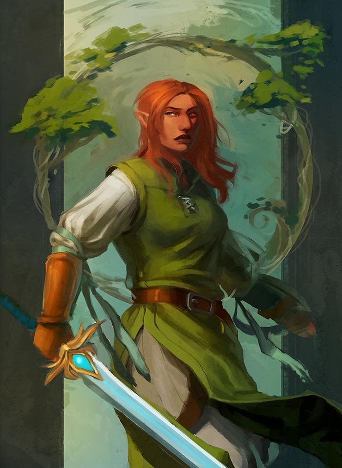 The Warden by Mudora