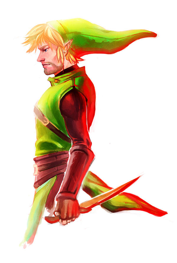 Keaton in Red by Mudora