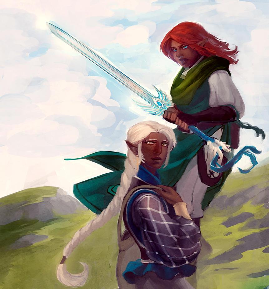 Lije and Orianna by Mudora