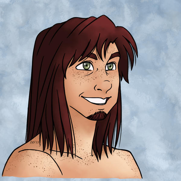 Hans - Hair Down Edition by DataDias