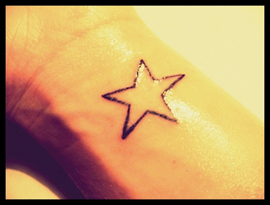 my star tattoo