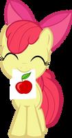 Ah drew an apple!