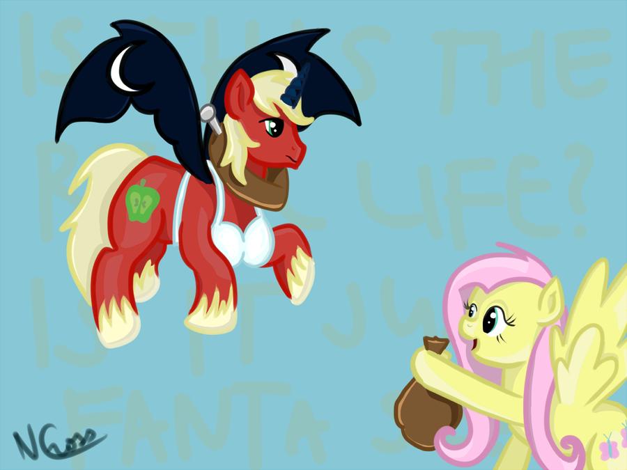 Galacon 2013: Dark Princess Big Mac vs. Fluttershy