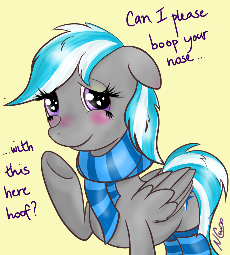 Boop, please? by Cwossie
