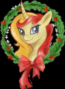 Miss Libussa's Christmas Greetings