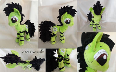 Wrench Pony Plush (Commission)