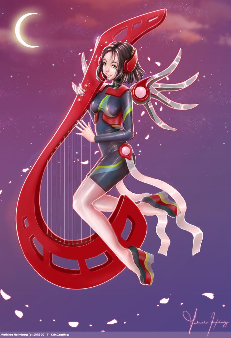 Freya's midnight song by Osho-Zena