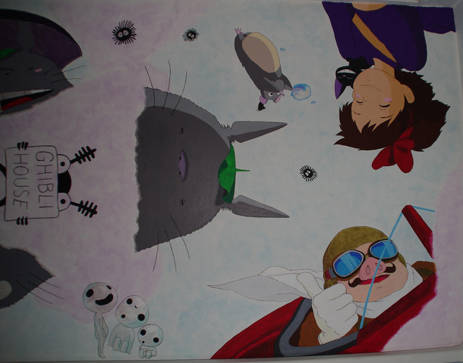 Ghibli ceiling part3 by rufy73