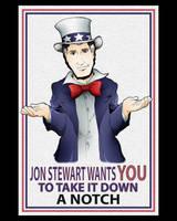 Jon Stewart Wants You by Saturn-Kitty