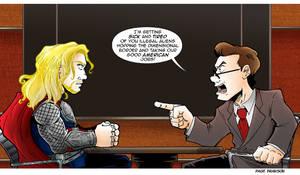 TDS/TCR Avengers Comic: Thor