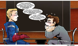 TDS/TCR Avengers Comic: Captain America