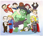 Avengers Family Portrait