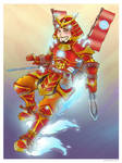 Iron Man, Samurai Style