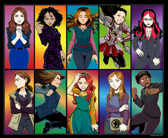 Agents of S.H.I.E.L.D. Ladies by Saturn-Kitty