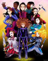 Femme Fatales by Saturn-Kitty