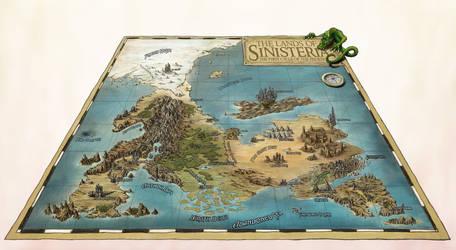 Lands Of Sinisteria by Djekspek