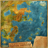 Kaidon Empire Map by Djekspek