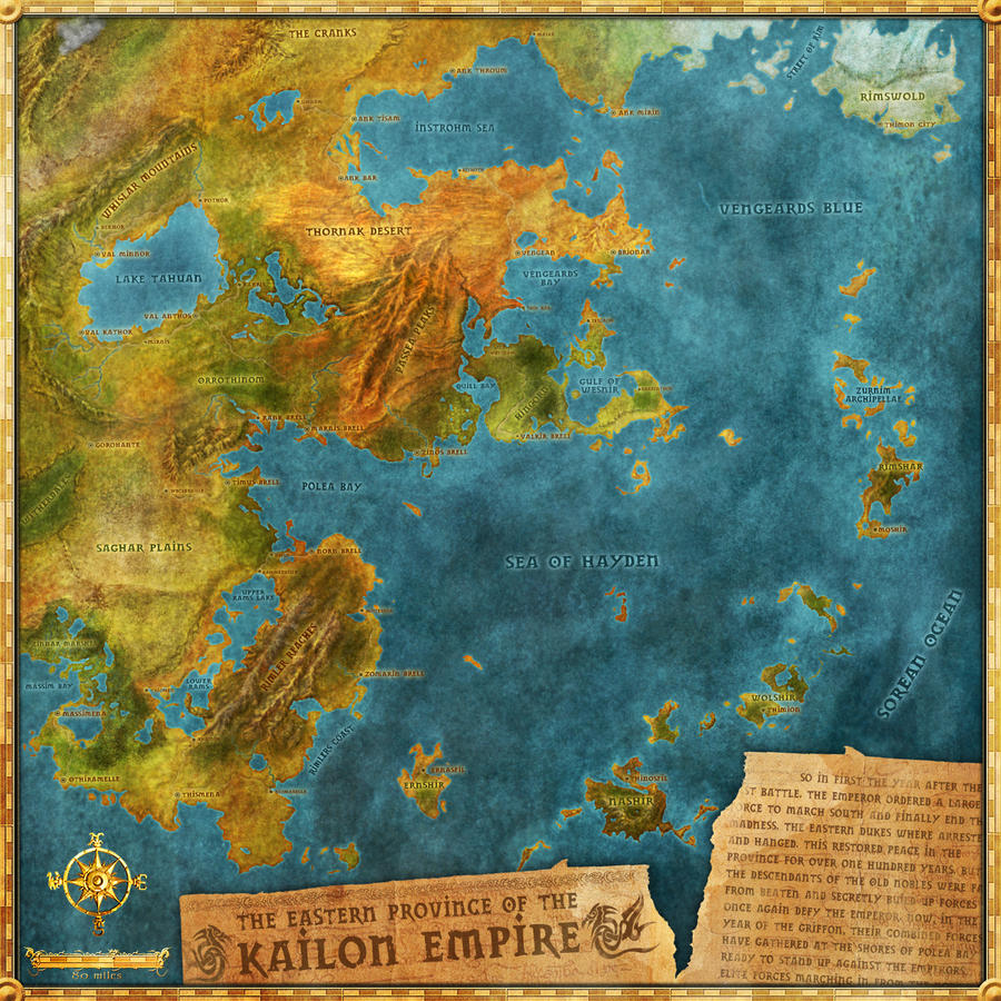 Kaidon Empire Map By Djekspek On Deviantart