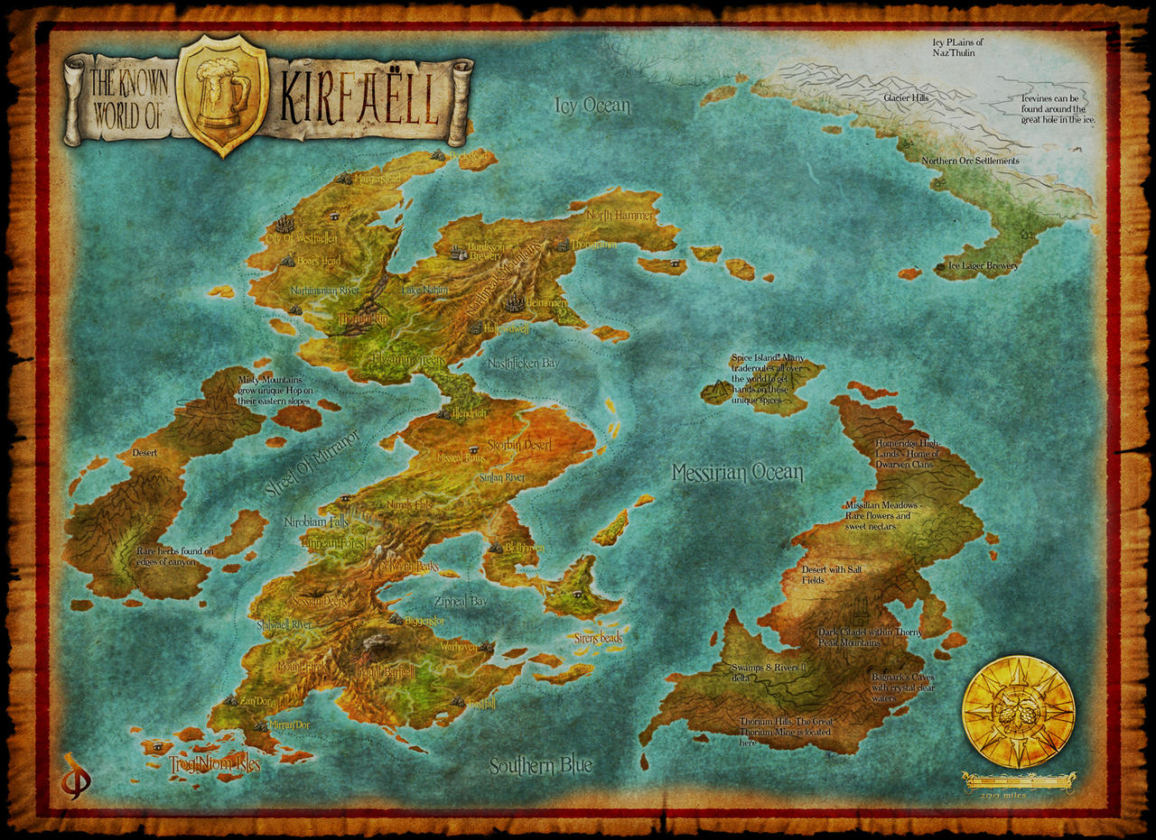 Worldmap by Djekspek