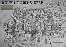 Raven Downs Keep by Djekspek