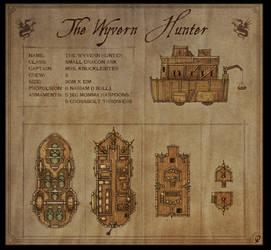 The Wyvern Hunter - Fantasy map by Djekspek