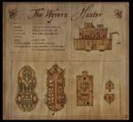 The Wyvern Hunter - Fantasy map