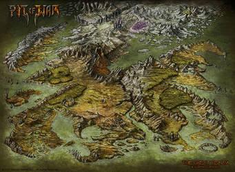 Pit Of War - Worldmap by Djekspek