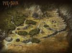Pit Of War Fantasy Map - Rok'Kor