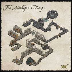 ISO Dungeon Map by Djekspek
