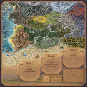 Story Realms Map