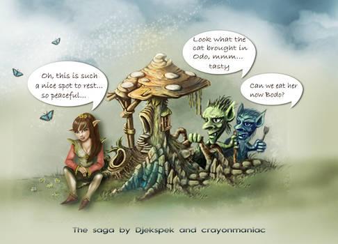 The saga continues by Crayon And Djekspek
