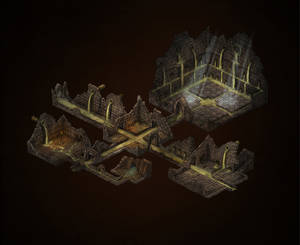 Pit Of War - Dungeon Map