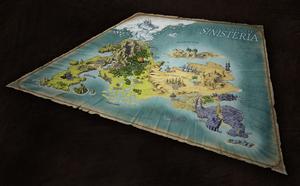 Lands of Sinisteria - Worldmap