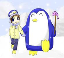 My Chubby Antarctic Friend by sworndestiny