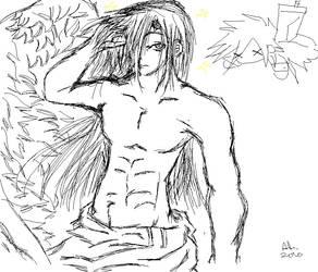 Sephiroth pwns Cloud by demlypop