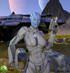 Andromeda Initiative Asari
