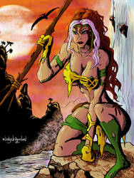 Savage Rogue v2 by Dragonlord42