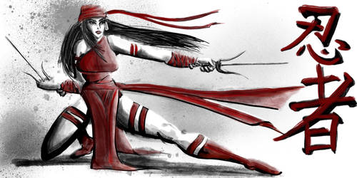 Elektra by binkydragonlord