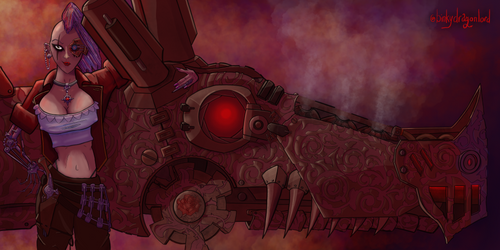 Corsair by binkydragonlord