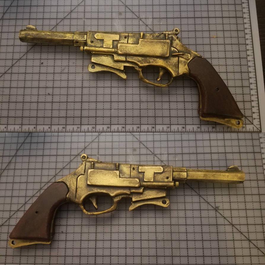 Foam Firefly pistol  by binkydragonlord