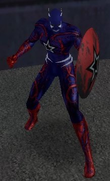 CoV: Symbiote Cap. America 1 by OrionSTARB0Y