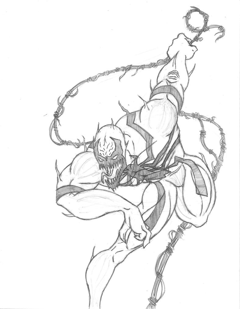 Mac Gargan Venom Coloring Pages Coloring Pages