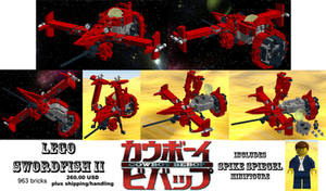 LEGO Swordfish II