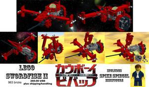 LEGO Swordfish II by OrionSTARB0Y